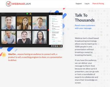WebinarJam Online Webinar