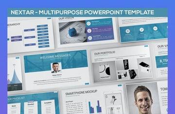 Nextar - Multipurpose PowerPoint Template