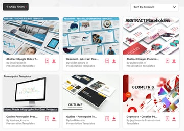 Abstract-PowerPoint Templates