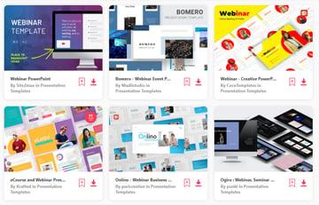 Envato Elements Webinar PowerPoint Templates