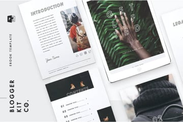 Get Lifted PowerPoint EBook Template