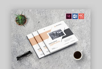 stylish business template word