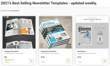 Microsoft Word Newsletter Templates for GraphicRiver