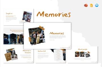 Memories Memorial PowerPoint Template