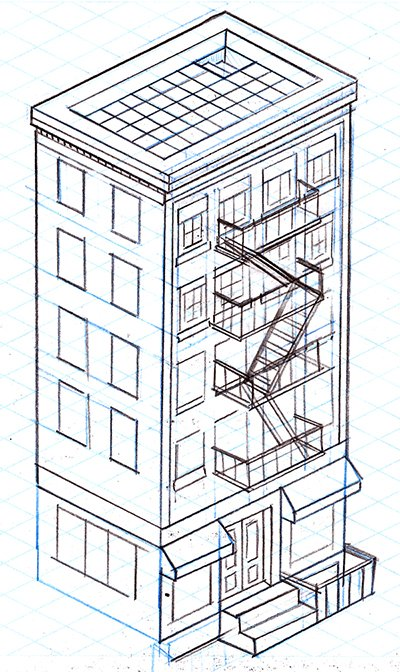 Draw the Building