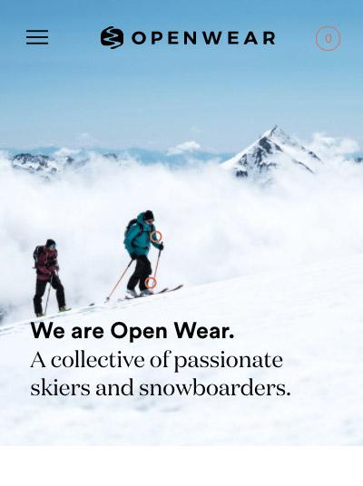 Open Wear mobile