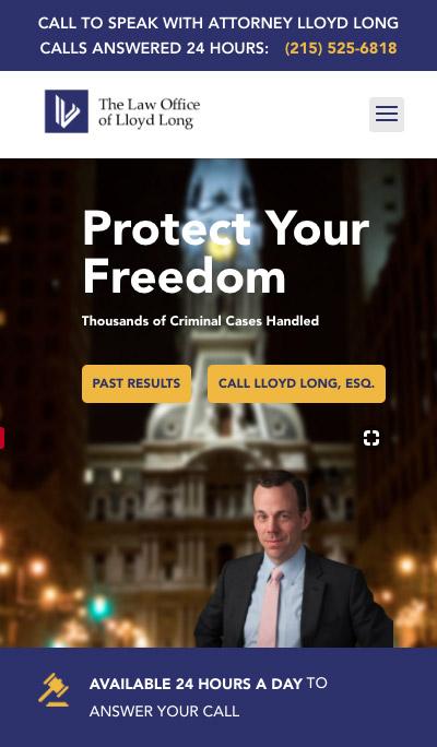 Philadelphia Criminal Defense Lawyer mobile