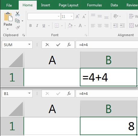 Simple Excel formula