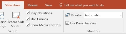 Use Presenter View in PowerPoint