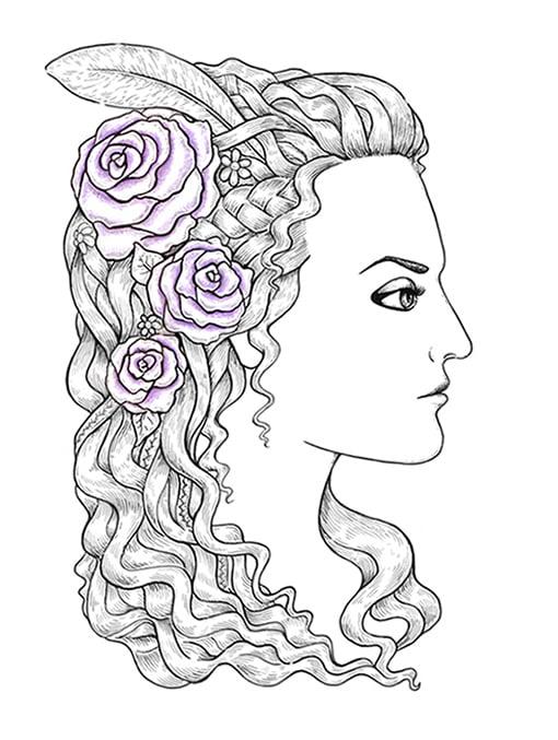 Color part lilac