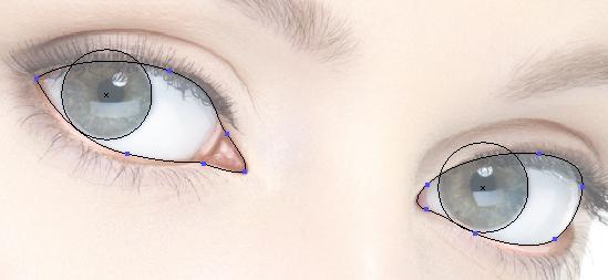 Create the eye