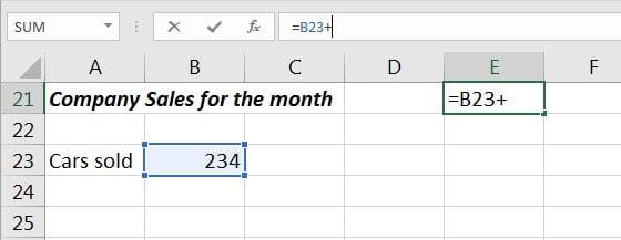 Excel Formula part 1