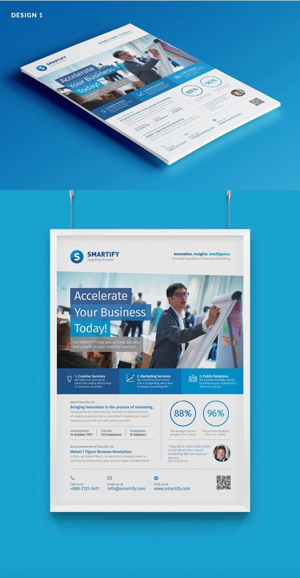 4-Design Corporate Business Flyers