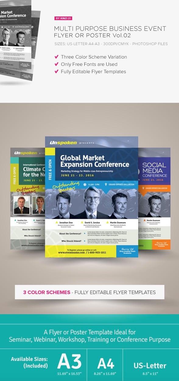 Multi-Purpose Business Event Flyer
