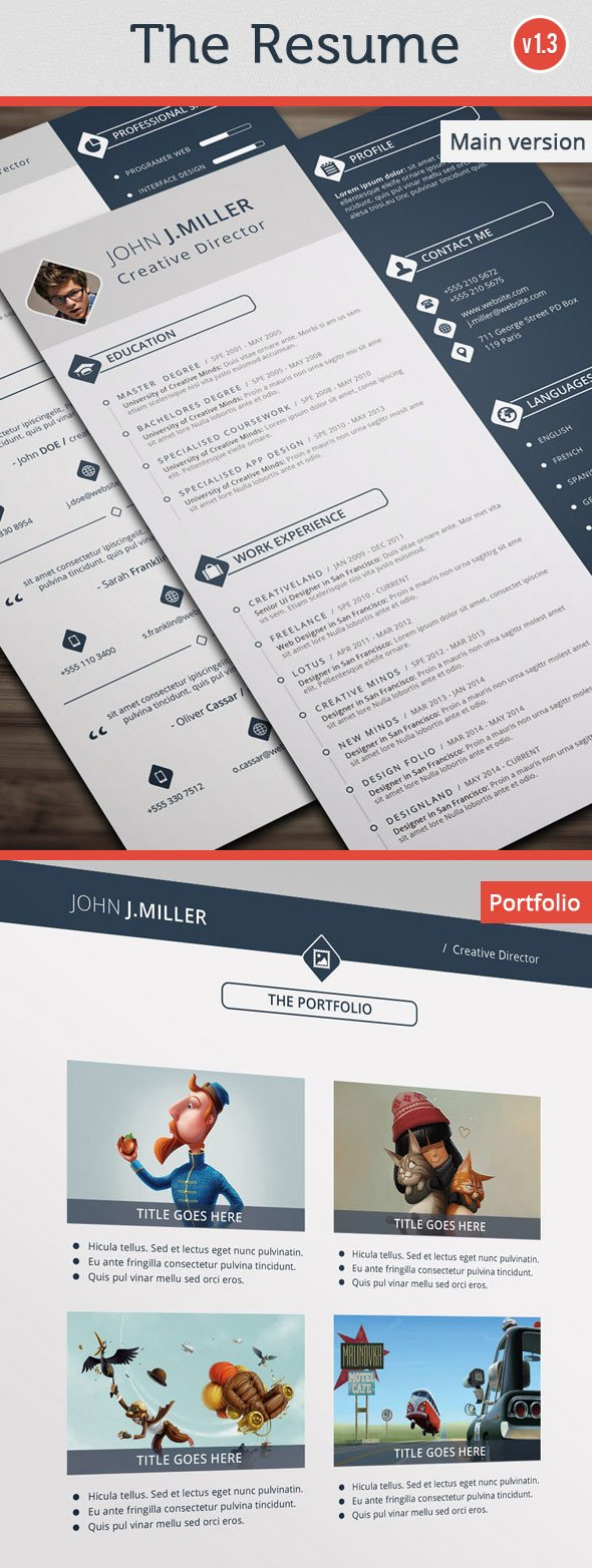 The Resume Modern Design