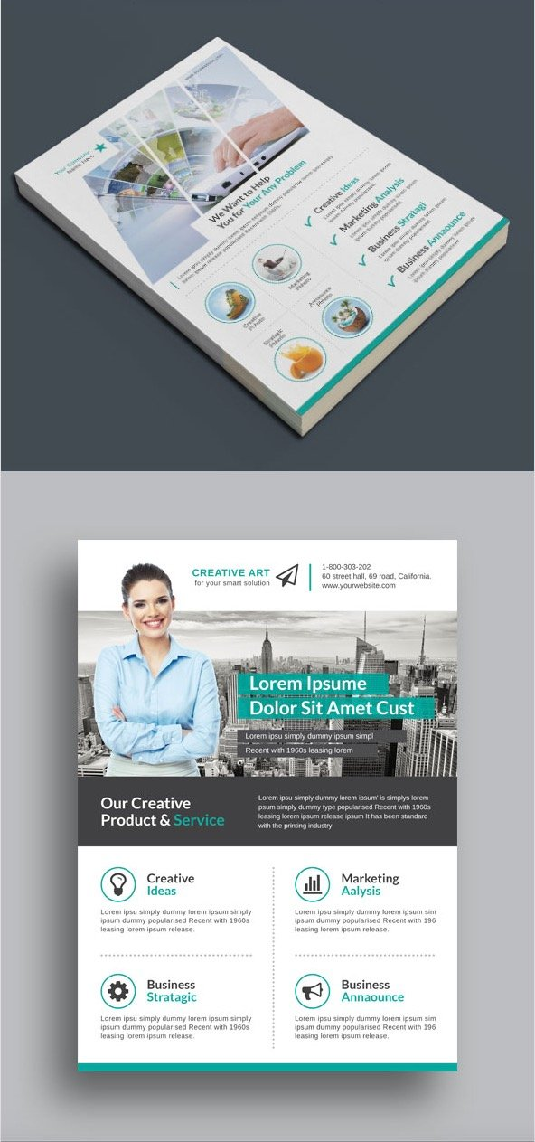 Multi-Purpose Business Flyer Pack