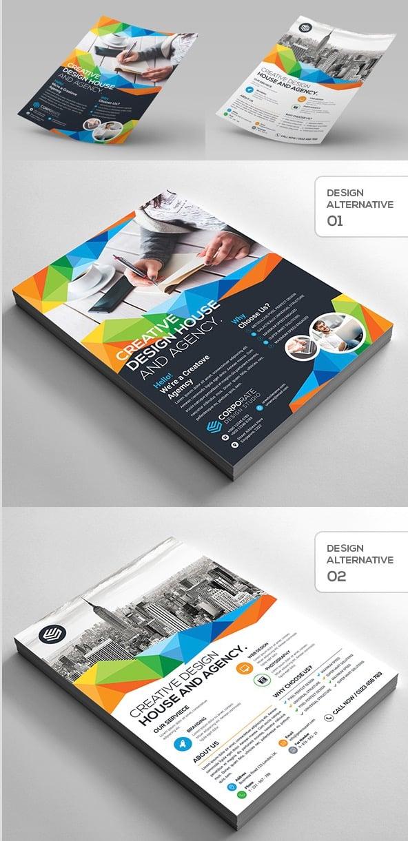 2-Design Creative Corporate Flyer