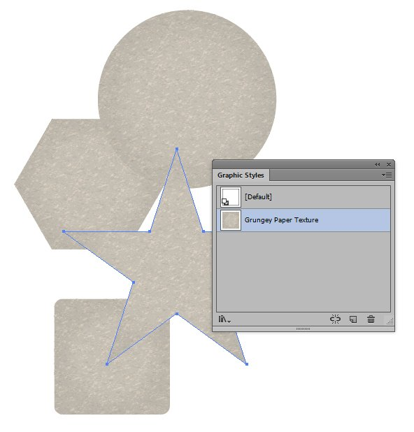 Quick Tip How to Create a Grunge Paper Texture Graphic Style in Illustrator