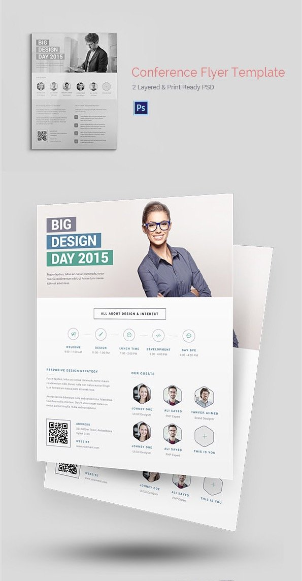ConferenceEvent Flyer Templates