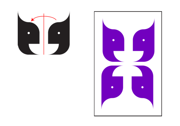 Arabic Calligraphy Ornaments Tutorial Reflection