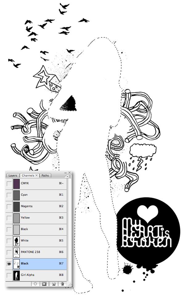 Setup Your Art for Screen Printing