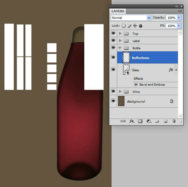 Create the Glass Details