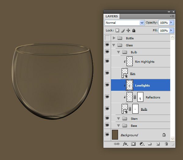 Add Glass Reflections