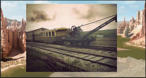 Create Photo Realistic Rails