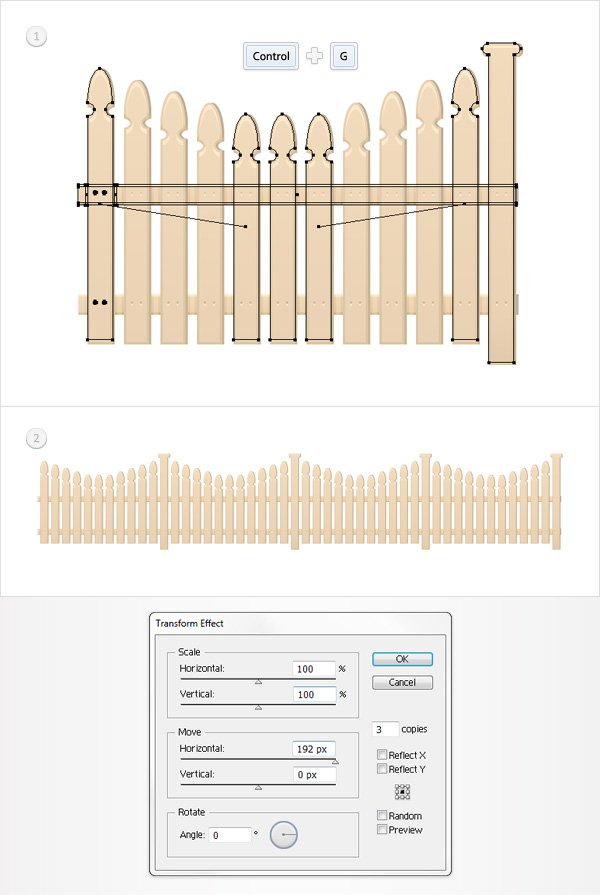 Create the Fence