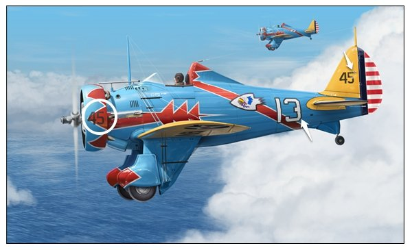 Perspective errors on the 13 are repaired while final elements such as the 45 decal and small tail mechanism are added