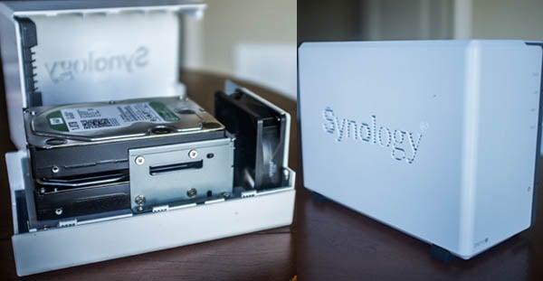 Synology DiskStation desktop RAID drive
