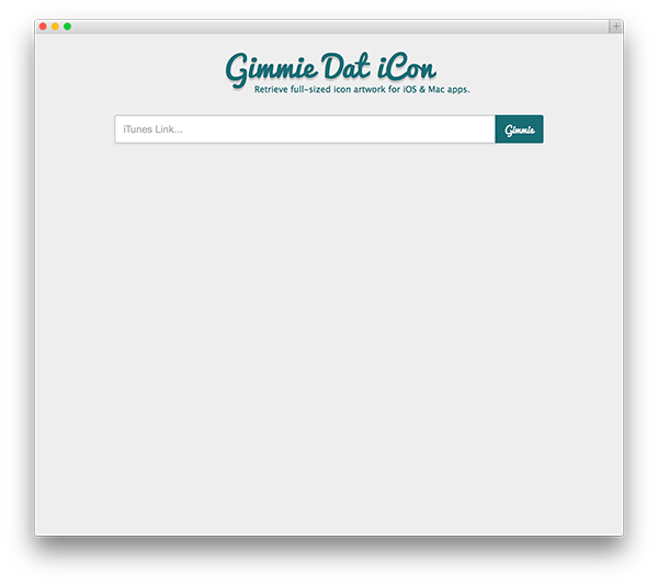 Screenshot of styled input