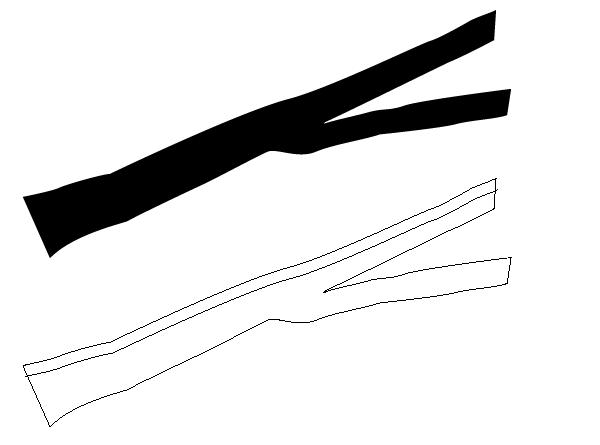 branch shape