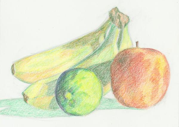 Add orange to the banana to neutralize it