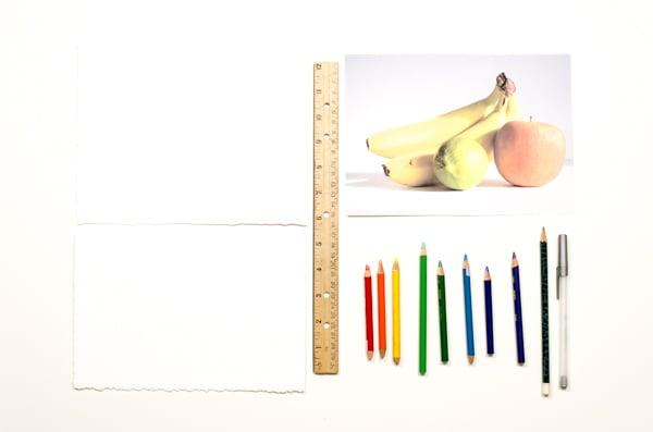 2-Layer color pencil - supplies
