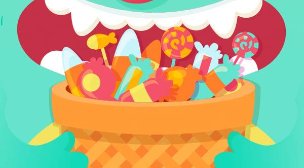 make the sweets shine