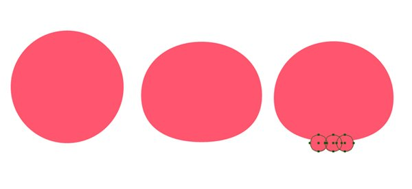 create a scull from ellipses and circles 1