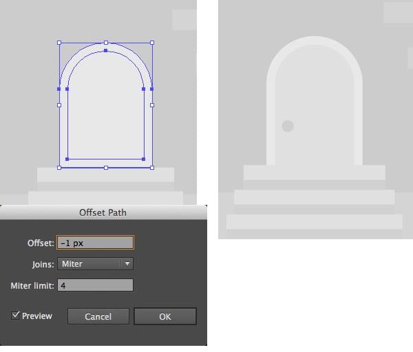 make the door detailed
