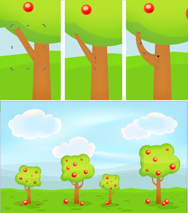 add tree branches
