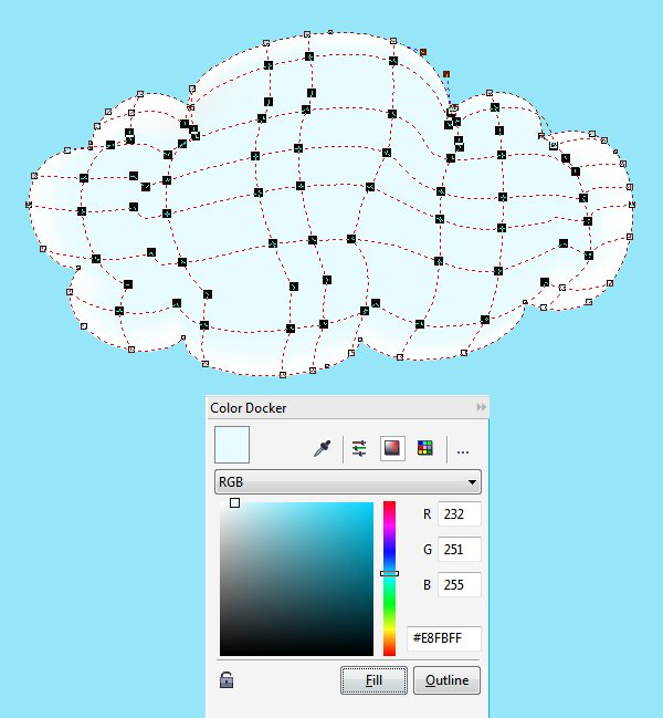 add color to the cloud with the Color Docker