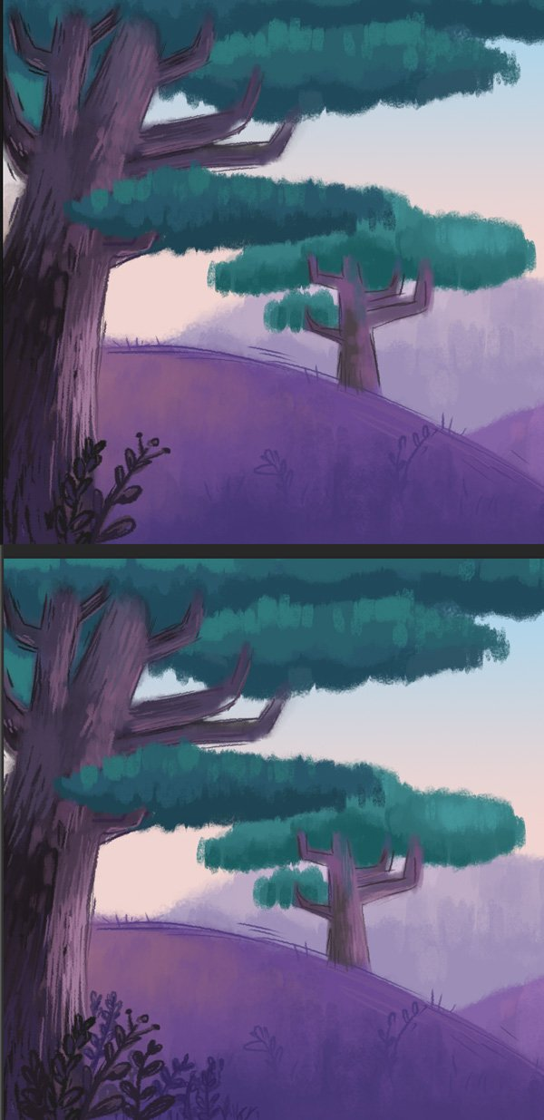 add more details to both trees
