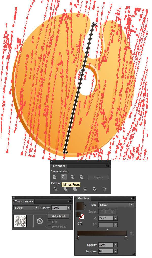 make an additional piece of texture in Screen Blending Mode