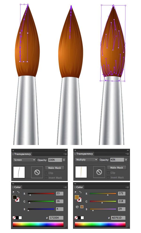 make the bristles look realistic