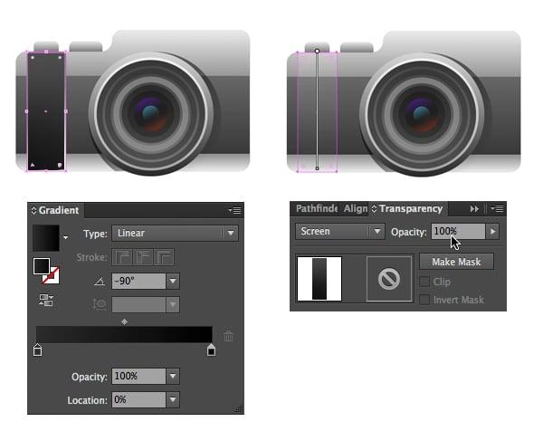 form a camera grip in screen mode