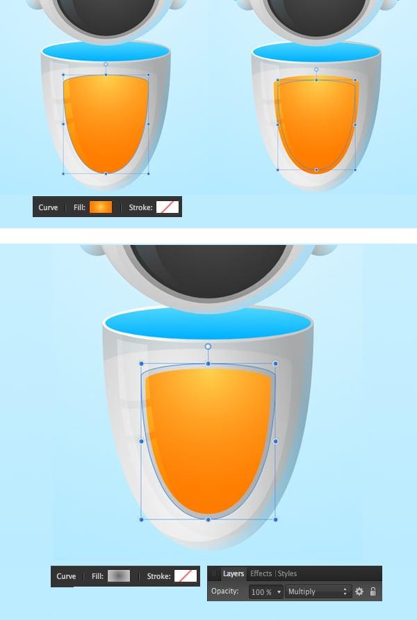 add a bright orange element to the body