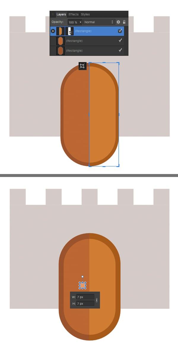 crop the gates