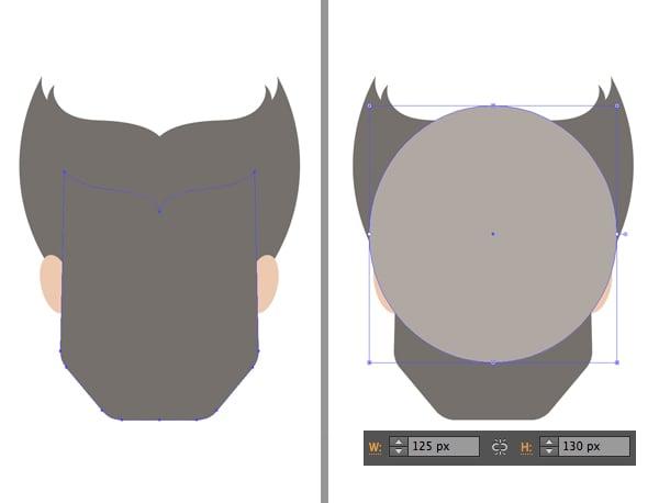 form the beard 1