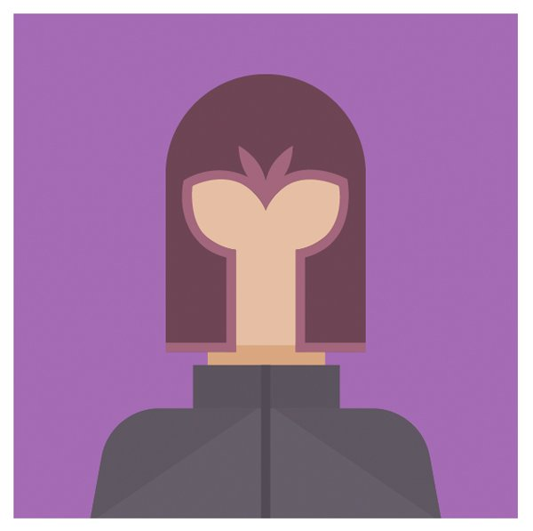 The Magnetos avatar is ready