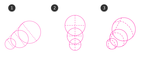 How to draw cow head 1