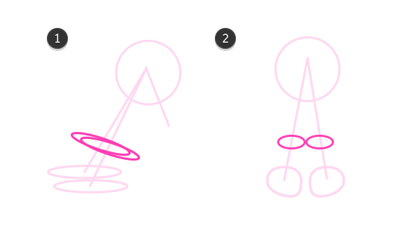 how to draw cow hooves 2